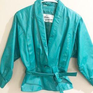 VINTAGE. Wilson's leather jacket M